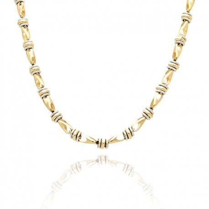 Łańcuszek złoty zarówno dla mężczyzn jak i kobiet.
