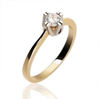 Pierścionek złoty fantazyjna korona.