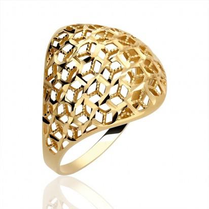 Pierścionek złoty majestat.