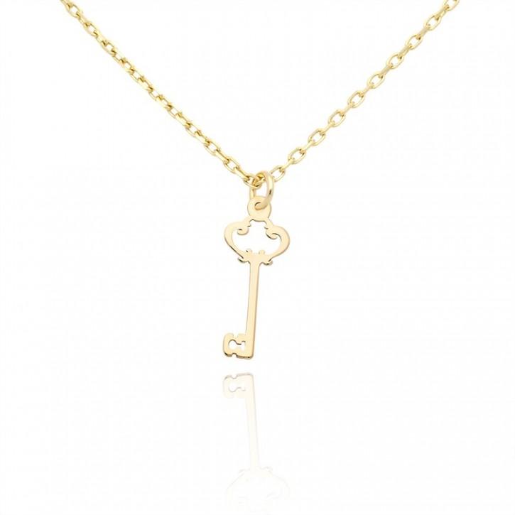 ce2b7c1392cfee Celebrytka złota królewski klucz - Gold4U