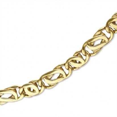 Łańcuszek złoty uniwersalny.