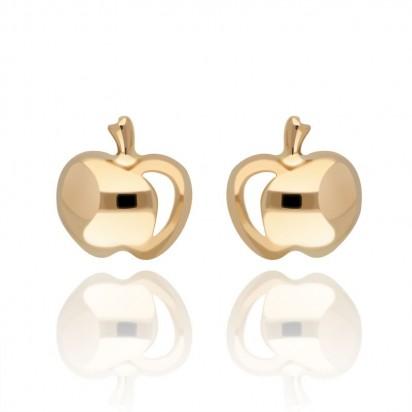Kolczyki złote jabłuszka