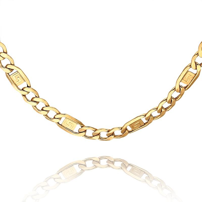 3bf910f467f5 Łańcuszek złoty uniwersalny z żółtego złota. Loading zoom