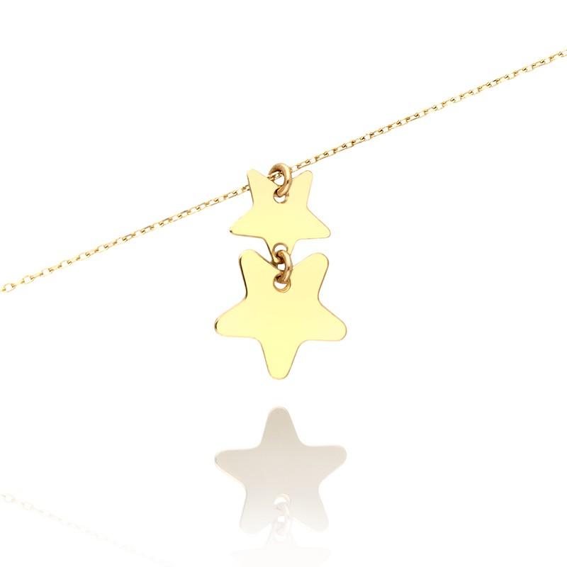 3b4d5a913c81 Bransoletka złota z gwiazdeczkami. Loading zoom