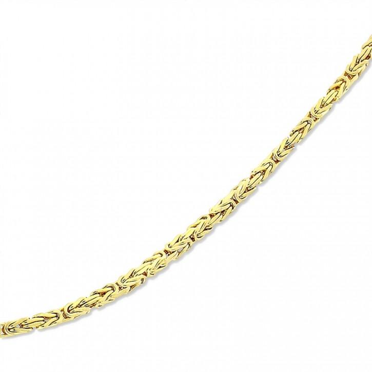 Łańcuszek złoty w stylu królewskim.