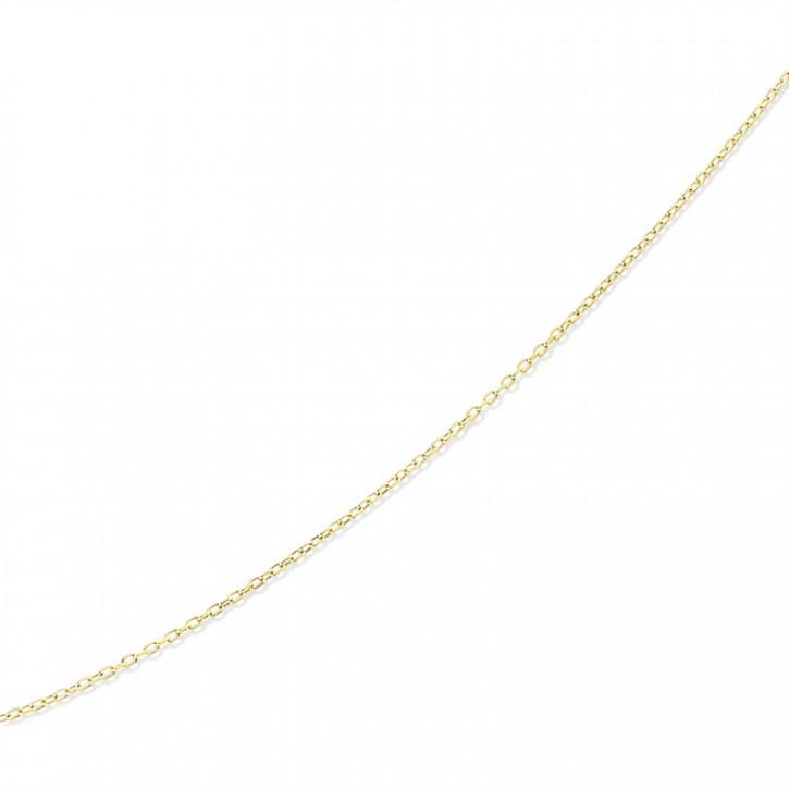 Łańcuszek złoty splot ankier.