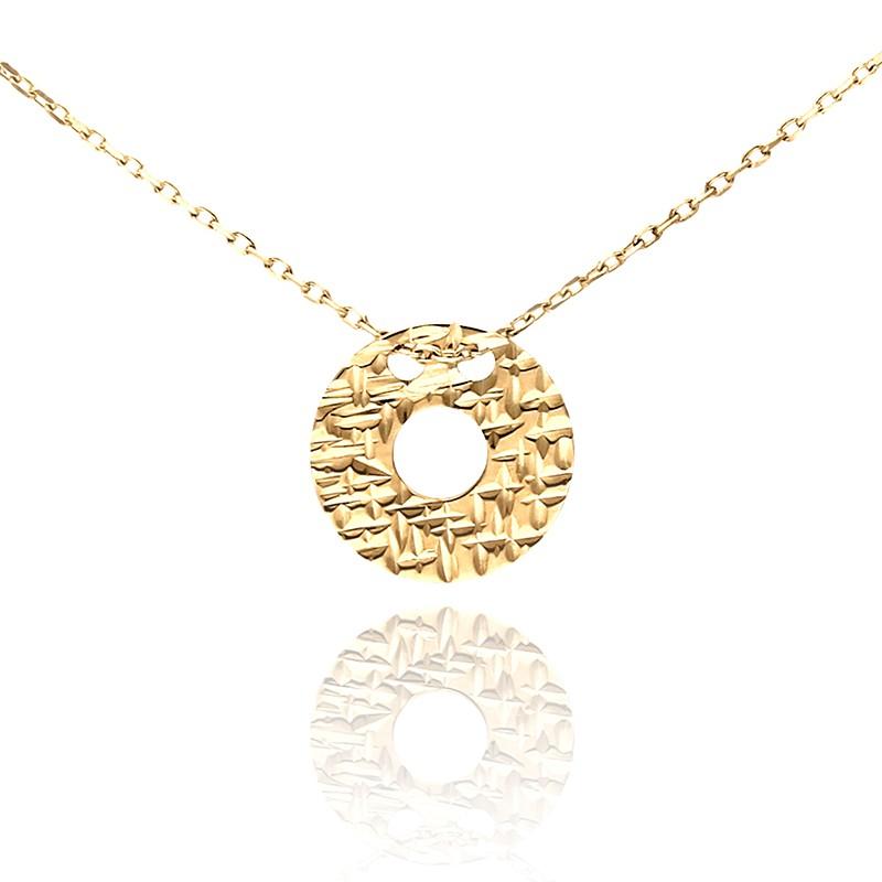 12ddfdc4d2c028 Łańcuszek celebrytka złote kółeczko - Gold4U