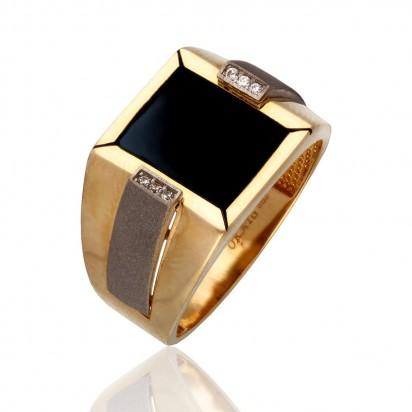 Pierścionek złoty sygnet.