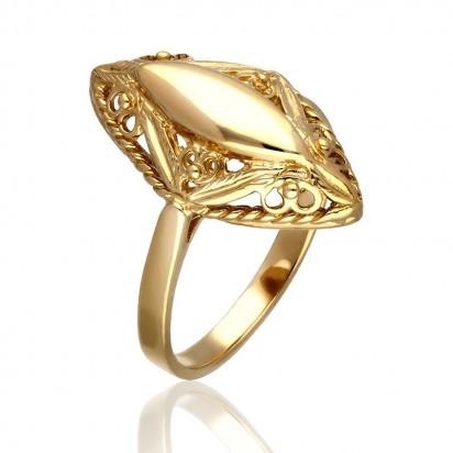 Pierścionek złoty wykonywany ręcznie.