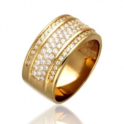 Pierścionek złota obrączka.