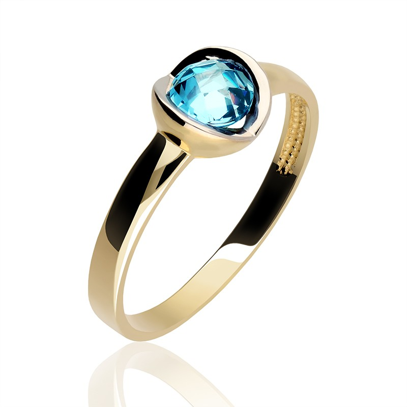 6fb0e43037 Złoty pierścionek perła oceanu - Gold4U